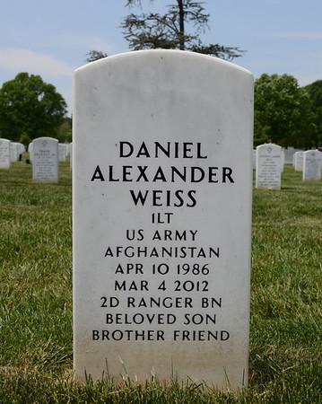 Arlington National Cemetery, Arlington, Virginia - May 16, 2015 - Daniel Alexander Weiss - Section 60 - Site 10087
