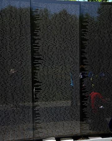 The Vietnam Veterans Memorial Wall - Washington, DC - May 14, 2015 - Jay Charles Sacks - Panel 19W - Line 41