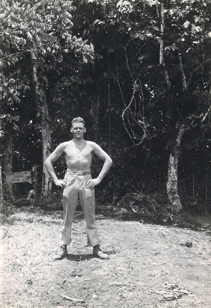 These are the pictures my Dad brought back from Guadalcanal where he fought in WWII. I scanned them to save them.