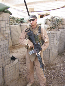 Dan in Iraq ~ January 2007