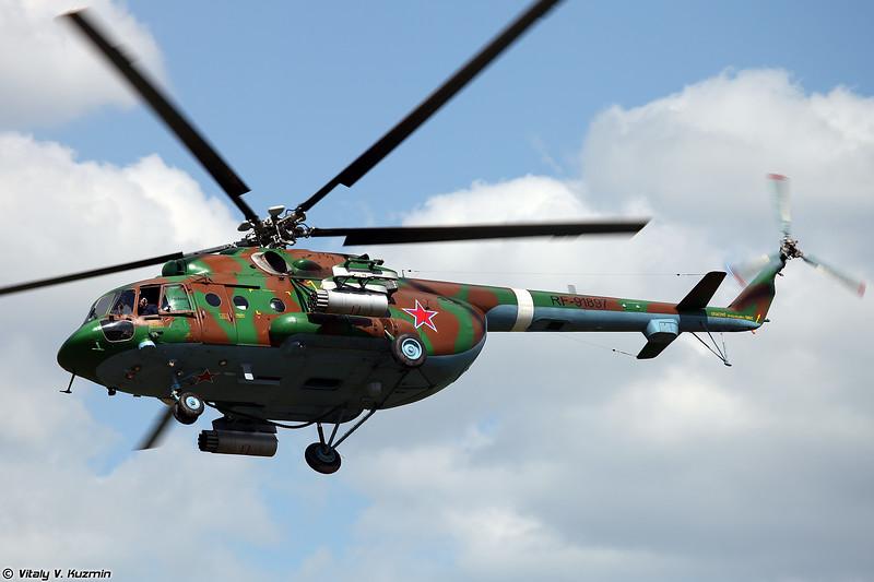 Ми-8АМТШ авиации Росгвардии (Mi-8AMTSh of National Guard Troops aviation)
