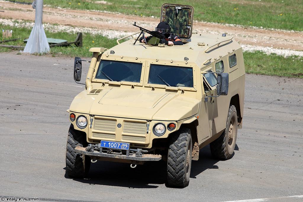 ГАЗ-233034 Тигр СПМ-1 (GAZ-233034 Tigr SPM-1 armored vehicle)