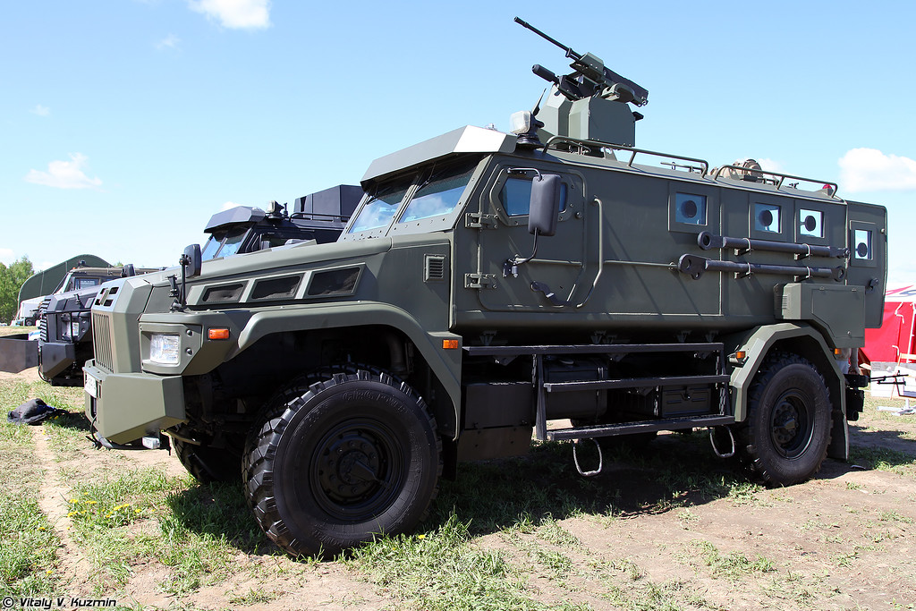 Бронеавтомобиль Патруль-А с БДУМ (Patrul-A armored vehicle with remote weapon station)