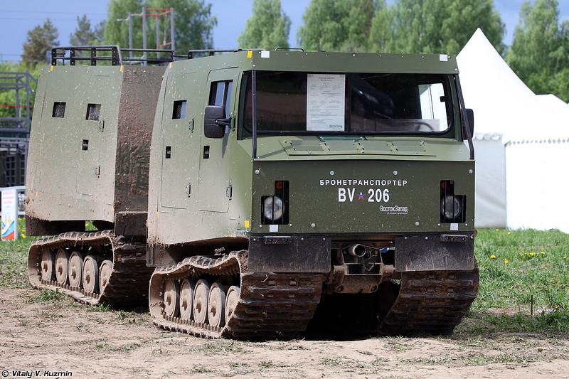 Бронированный вездеход BV-206 Лось (Armored BV-206)