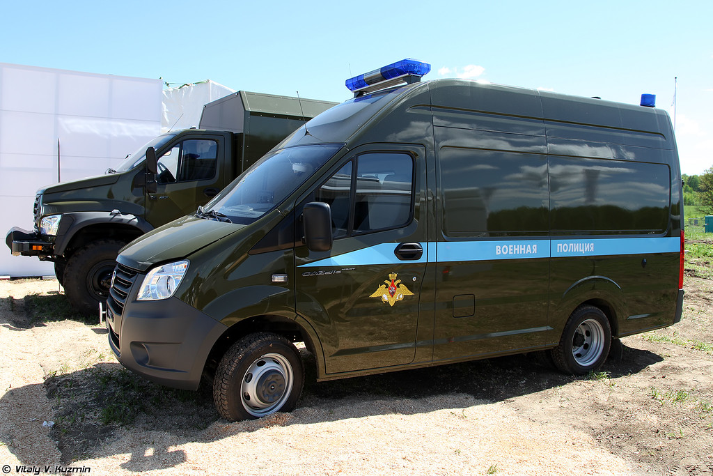 Автомобиль ГАЗель NEXT A31R22 Военная полиция (Military police vehicle GAZel NEXT A31R22)