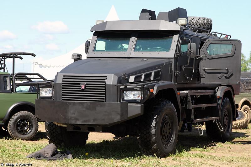 Бронеавтомобиль Патруль-СН на шасси КАМАЗ-43502-45 (Patrul-SN armored vehicle on KAMAZ-43502-45 chassis)