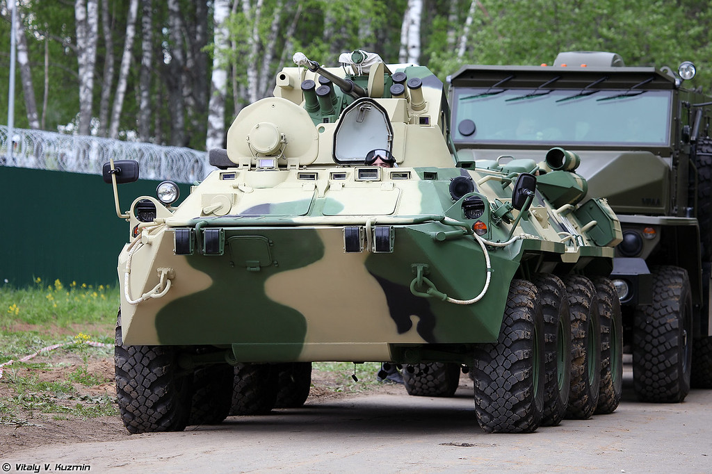 БТР-82А (BTR-82A armored personnel carrier)