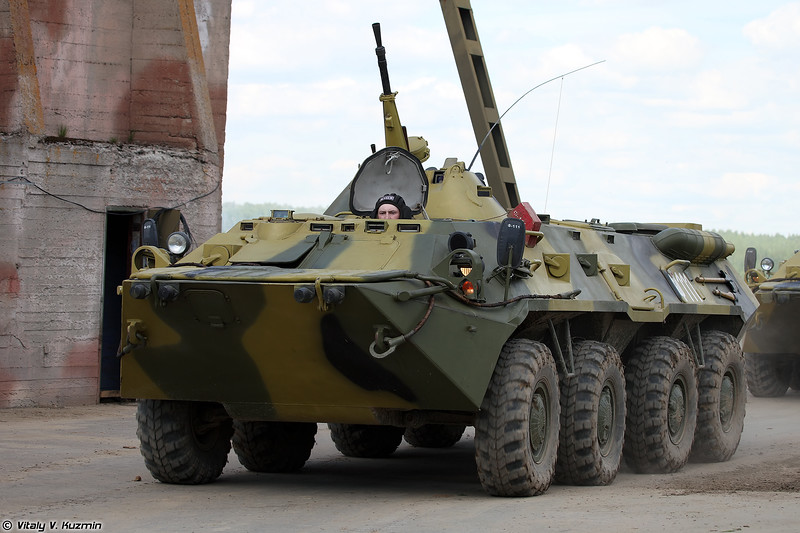 БТР-80 (BTR-80 armored personnel carrier)
