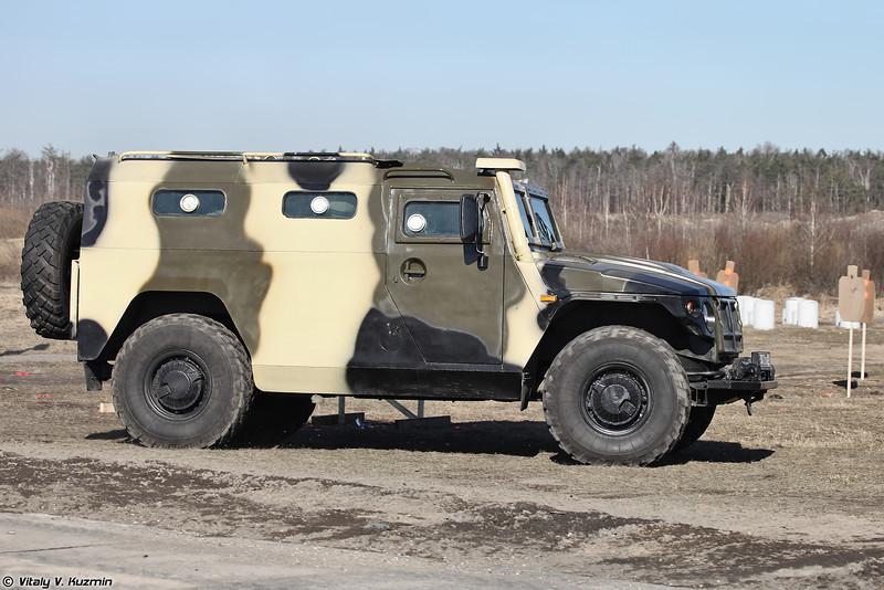 ГАЗ-233036 СПМ-2 (Special police vehicle GAZ-233036 SPM-2)