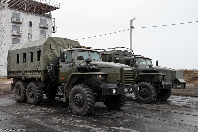 Бронеавтомобили Федерал-42591 на шасси Урал-4320 и Урал-4320 Звезда-В (Federal-42591 on Ural-4320 chassis and Ural-4320 Zvezda-V armored vehicles)