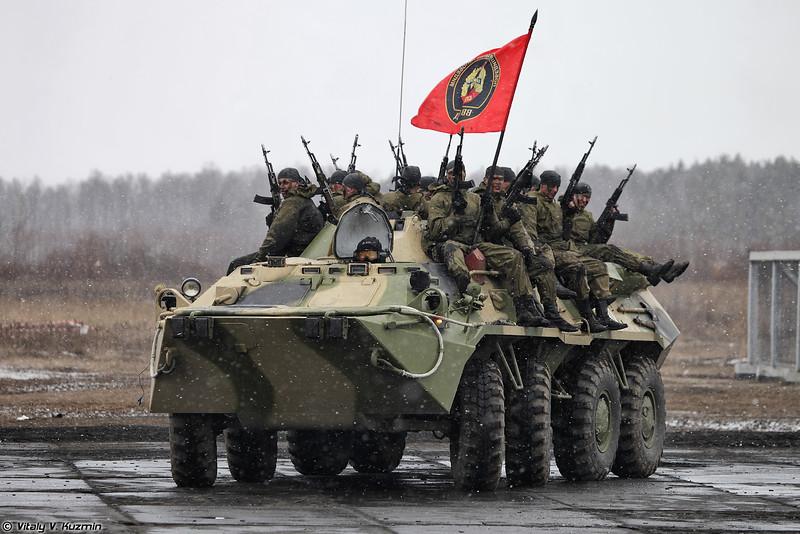 33-й ОСН Пересвет ВВ МВД России (33rd Special Purpose Unit Peresvet of Internal troops)