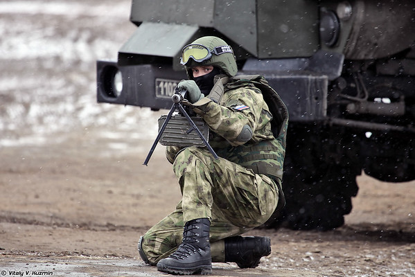 The Day of Internal Troops 2015 and tactical exercises