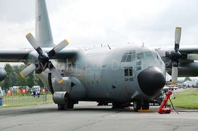 The Lockheed Hercules C-130 plane. Belgium has 11 of these planes that are much in use.