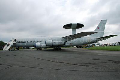 The E-3A AWACS.
