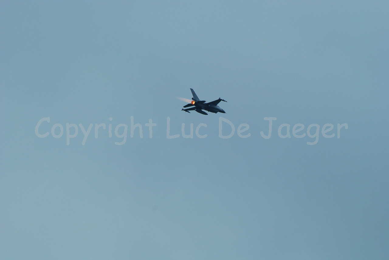 A F-16 of the Belgian Air Force.