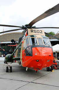 The Sea King of the Belgian Air Force, very much used in rescue operations. The helicopter will be replaced by the NH-90.