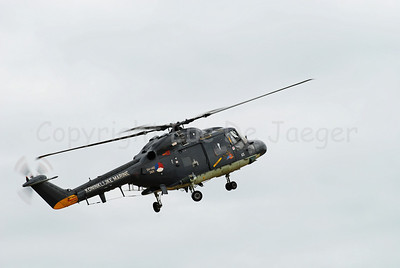 The Lynx helicopter in use by the Dutch Koninklijke Marine (Royal Marine).