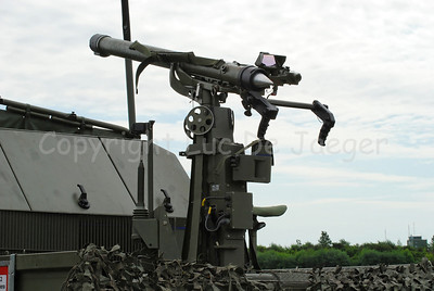 The Mistral Missile launcher in use by the Belgian Army