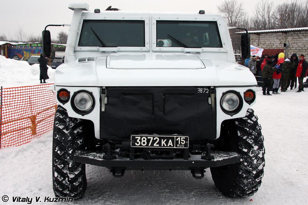 СПМ-2 на базе ГАЗ-2330 Тигр (Special police vehicle SPM-2 on GAZ-2330 base from ODON division)