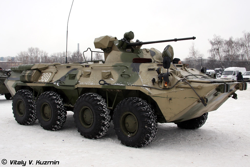 БТР-80А из состава ОДОН (BTR-80A from ODON)