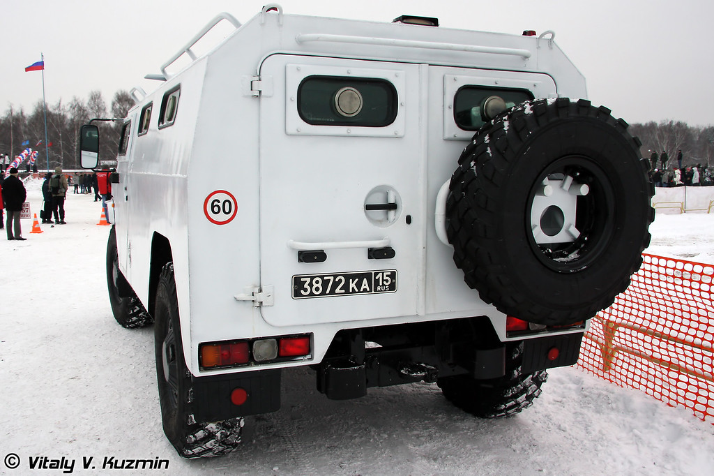 СПМ-2 на базе ГАЗ-2330 Тигр (Special police vehicle SPM-2 on GAZ-2330 base from ODON division)