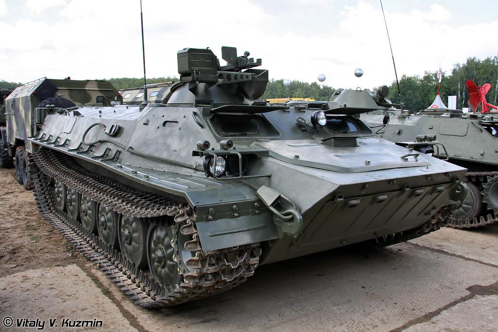 Легкий многоцелевой бронированный гусеничный транспортер МТ-ЛБВМК (Multi-purpose light-armoured vehicle MT-LBVMK)