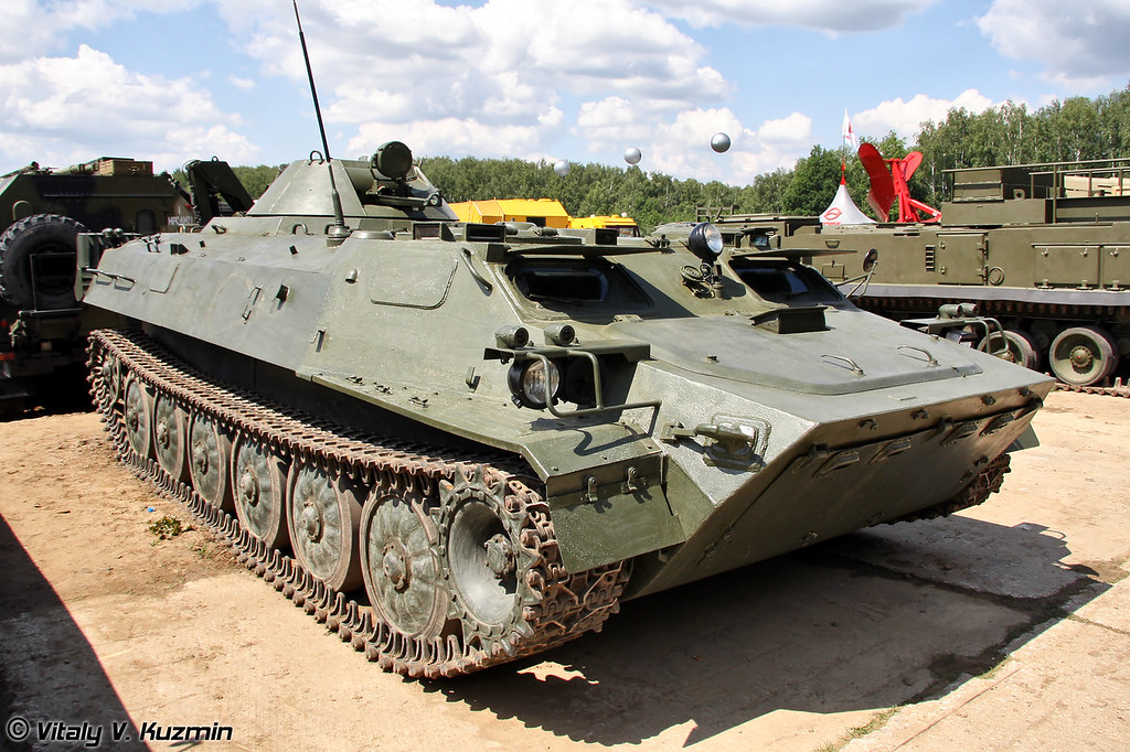 Легкий многоцелевой бронированный гусеничный транспортер МТ-ЛБМА (Multi-purpose light-armoured vehicle MT-LBMA)