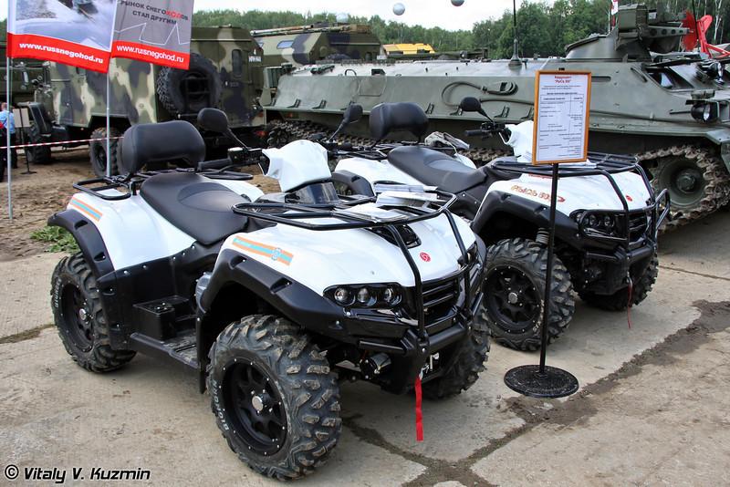 Квадроцикл Рысь-500 (Ris-500 ATV)