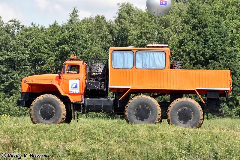 Вездеходное транспортное средство Урал-Полярник (All-terrain vehicle Ural-Polyarnik)