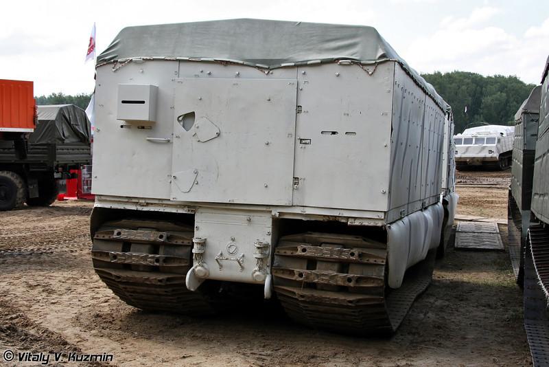 Двухзвенный гусеничный транспортер модернизированный ДТ-20ПМ (Tracked carrier DT-20PM)