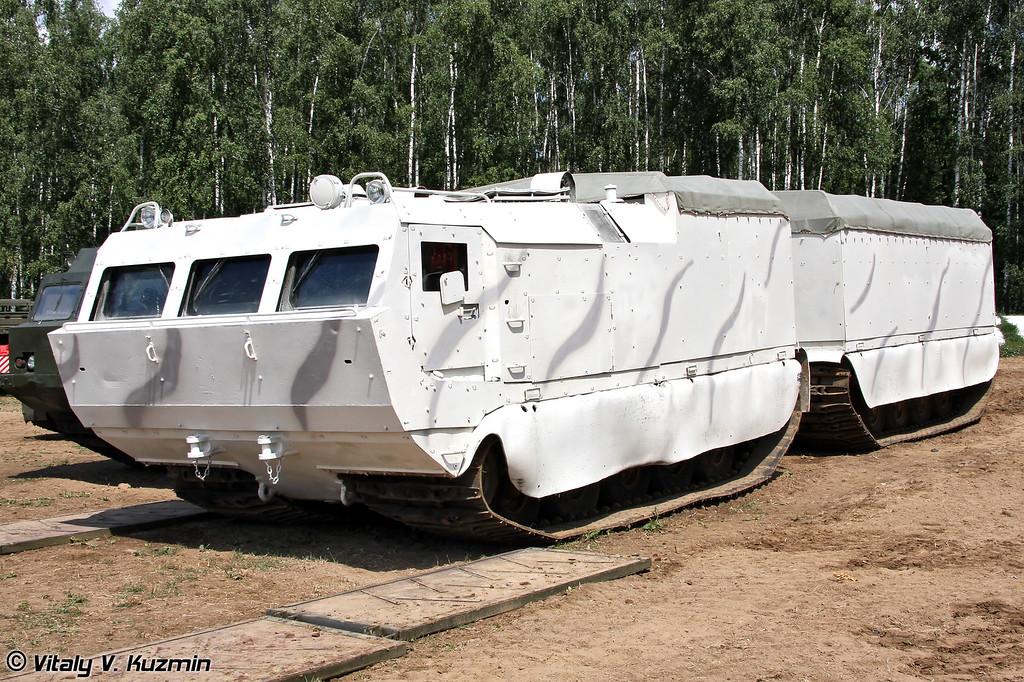 Двухзвенный гусеничный транспортер модернизированный ДТ-10ПМ (Tracked carrier DT-10PM)