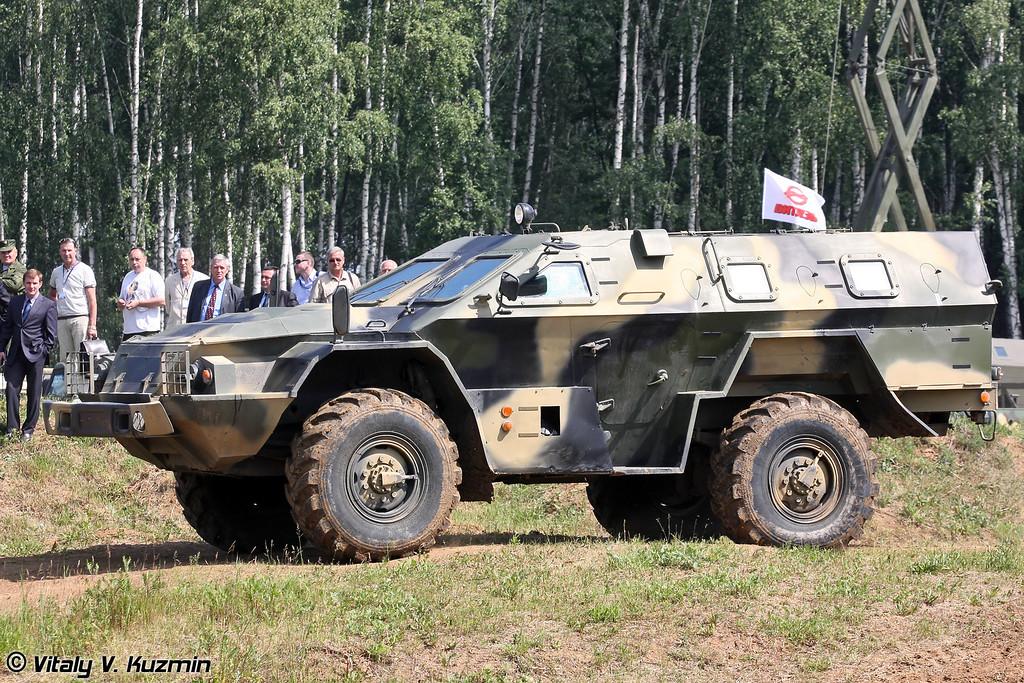 КАМАЗ-43269 Выстрел (KAMAZ-43269 Vistrel)