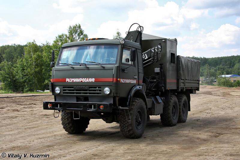 Специальный подъемно-транспортный комплекс СКАРАБЕЙ (EOD vehicle SKARABEY)