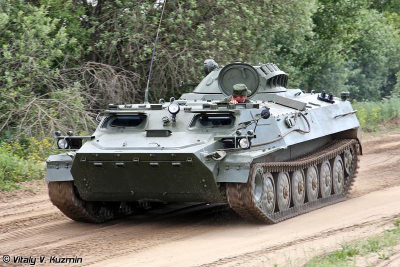 Легкий многоцелевой бронированный гусеничный транспортер МТ-ЛБМ 6МА (Multi-purpose light-armoured vehicle MT-LBM 6MA)