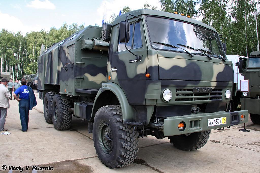 Автомобильный кузов-фургон К4.5350 (K4.5350 trailer)
