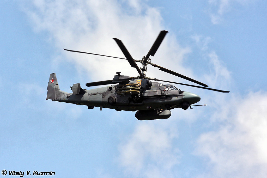 Ка-52 (Ka-52 attack helicopter)