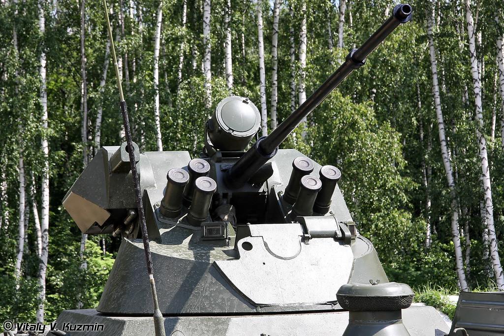 Легкий многоцелевой бронированный гусенничный транспортер-тягач модернизированный МТ-ЛБМ 6МБ (MT-LBM 6MB with combat module)