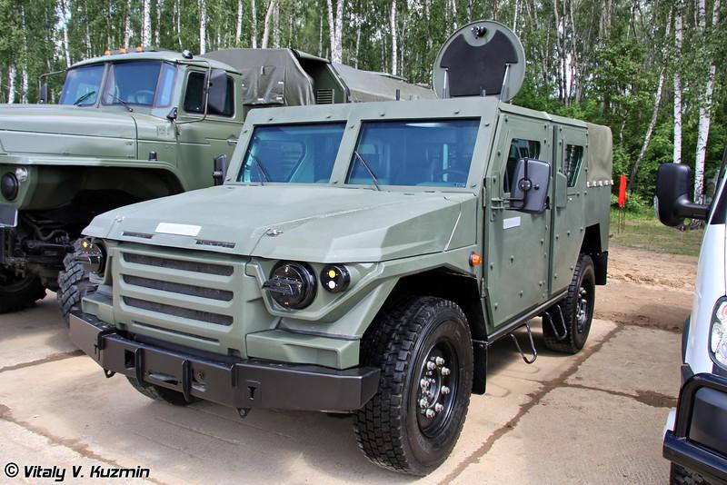 Специальное транспортное средство Скорпион-ЛТА (Light tactical vehicle Skorpion-LTA)