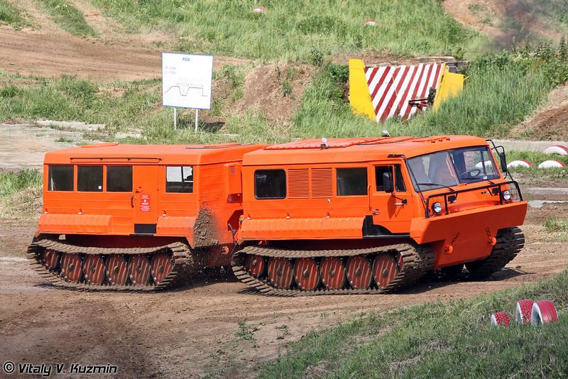 Гусеничный двухзвенный транспортер ТТМ-4901 Руслан (Two-section tracked carrier TTM-4901 Ruslan)