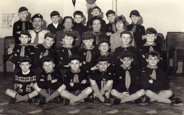 The reason for this shot is...1st Chiseldon Cubs used one of the huts way back in 1968/9,so I included this pic as I am on it..the handsome chap bottom right.