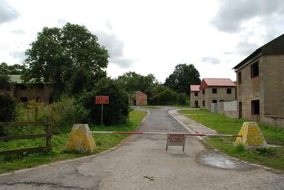 Imber Village Army training area 2008.