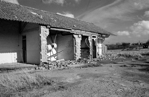 This damage was caused by the Army whilst training for their tour of Northern Ireland during the troubled times of the 1970`s