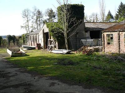 RAF Membury Shelters and Hospital Buildings 2007.