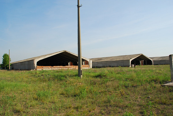 We begin with a stop at the old base that was knocked down in 2000..only the large hangars remain