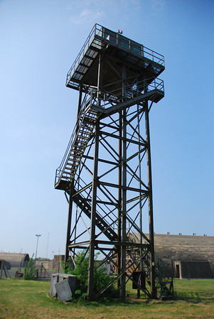 One of two watch towers from WW2