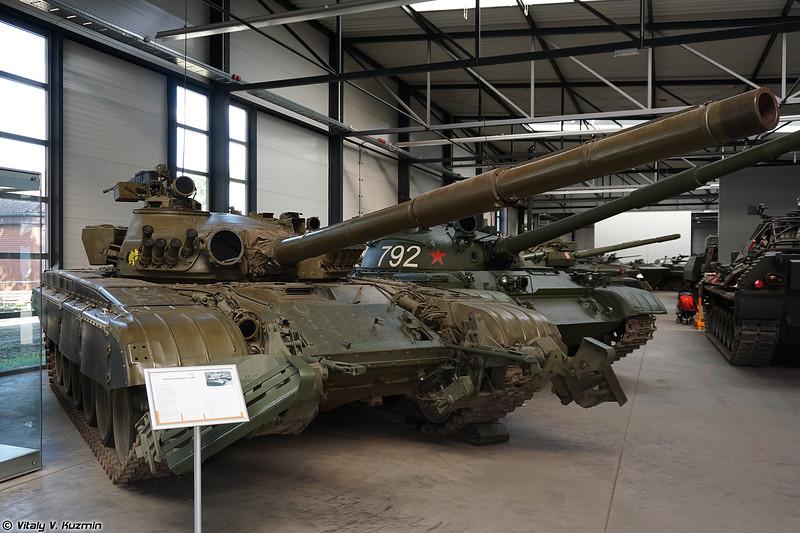 Основной танк Т-72М1, состоявший на вооружении ГДР (T-72M1 main battle tank)