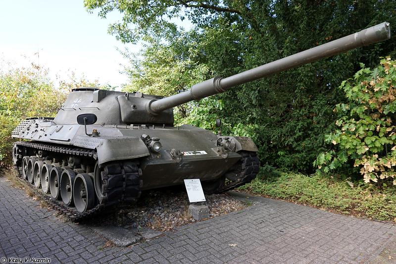 Прототип танка Леопард 1 (Leopard 1 prototype)