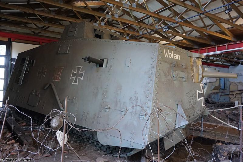 Реплика танка A7V (A7V Wotan replica)