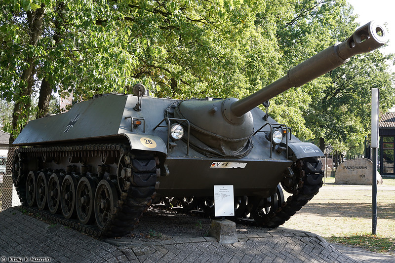 Опытный образец Kanonenjagdpanzer (Kanonenjagdpanzer prototype)