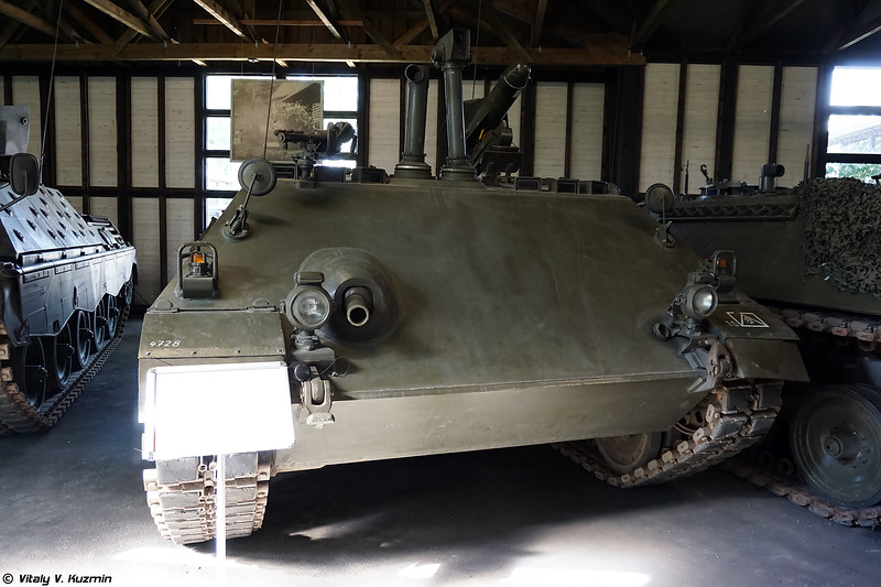Самоходный ПТРК Raketenjagdpanzer 2 (Raketenjagdpanzer 2 ATGM vehicle)